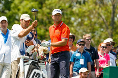 Luke Guthrie at the Memorial Tournament Royalty Free Stock Image