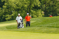 Luke Guthrie at the Memorial Tournament Royalty Free Stock Photo