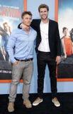 Luke Hemsworth and Liam Hemsworth Royalty Free Stock Images