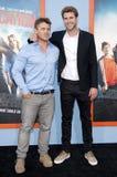 Luke Hemsworth and Liam Hemsworth Stock Images