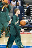 Luke Ridnour Warms Up Stock Photography