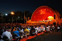 Luke Shell Concert, Boston stockfoto