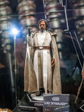 Luke Skywalker in Ani-Com & Games Hong Kong 2016. 1:6 scale Luke Skywalker figure in Ani-Com & Games Hong Kong 2016 royalty free stock images