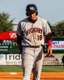 Luke Tendler, Hickory Crawdads stock foto