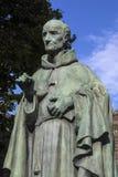 Luke Wadding Statue i Waterford arkivfoto