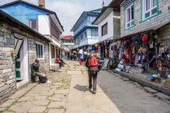 Lukla, Νεπάλ στοκ φωτογραφίες