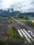 Lukla airport Royalty Free Stock Photo