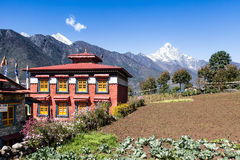 Lukla Monastry Royalty Free Stock Photos
