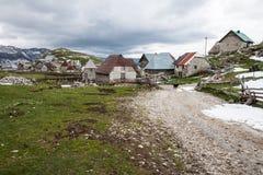 Lukomir Bosnien Royaltyfri Fotografi