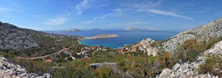 Lukovo bay at the Mediterranean sea, Croatia Royalty Free Stock Photography
