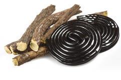 Lukrecjowi korzenie i lukreci czerń Obraz Royalty Free