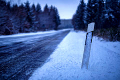 Lukrowa droga Zdjęcie Stock