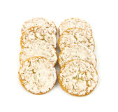 lukrowy ciastka oatmeal Zdjęcie Royalty Free