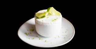 Lukrowy cytryny souffle zdjęcia royalty free