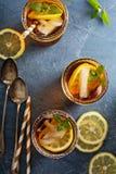 Lukrowy herbaciany koszt stały strzał zdjęcie royalty free