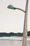 Lukrowy lamppost Zdjęcia Stock