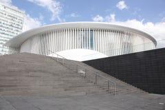 Luksemburg Filharmoniczny jest filharmonią lokalizować na Kirchberg plateau w mieście Luksemburg Zdjęcie Stock