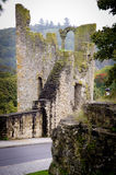 Luksemburg Fortess ruiny Zdjęcie Stock