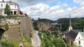 Luksemburg kształtuje teren Obraz Stock