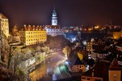 Luksemburg miasta zmierzchu odgórny widok w Luksemburg obraz royalty free