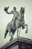 01, 2016: Luksemburg miasto LUKSEMBURG, LIPIEC - Statua Uroczysty Du Zdjęcie Royalty Free