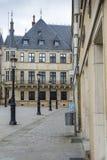 LUKSEMBURG miasto LUKSEMBURG, LIPIEC, - 01, 2016: Uroczysty Ducal pałac Fotografia Royalty Free