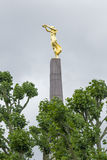 01, 2016: Luksemburg miasto LUKSEMBURG, LIPIEC - Wielki Wojenny pomnik Fotografia Stock