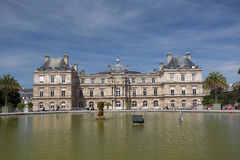 Luksemburg pałac fotografia royalty free