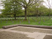 Luksemburg pomnik i Obraz Royalty Free