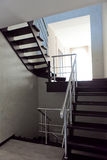 Luksusów domowi wewnętrzni schodki Zdjęcie Stock