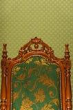 luksus królewski krzesło Obrazy Stock