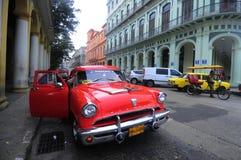 Luksus odnawiący stary amerykański samochód Obraz Royalty Free