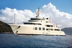 luksus łodzi Obrazy Royalty Free