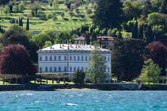 Luksus stwarza ognisko domowe na Jeziornym Como Fotografia Royalty Free