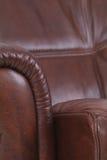 luksus szczegółu skóry luksusu recliner obraz royalty free