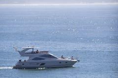 Luksusowa łódź Obrazy Royalty Free