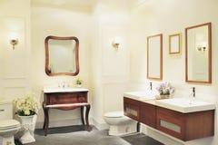 Luksusowa łazienka obraz royalty free