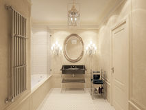 Luksusowa łazienka Zdjęcie Stock