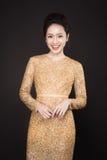 Luksusowa azjatykcia kobieta Obraz Royalty Free
