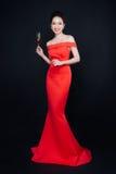 Luksusowa azjatykcia kobieta Fotografia Royalty Free