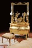 luksusowa brązowa wewnętrzna rzecz Zdjęcie Stock