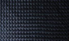 Luksusowa czarna rzemienna tekstury tła struktura, ubrania, pokrywa, projekt, tkanina, moda, naturalny galonowy Zdjęcia Stock