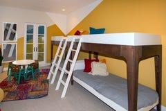 Luksusowa dworów dzieci ` s sypialnia Fotografia Stock