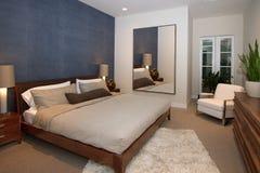 Luksusowa dworu domu sypialnia Obraz Royalty Free