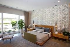 Luksusowa dworu domu sypialnia Fotografia Stock