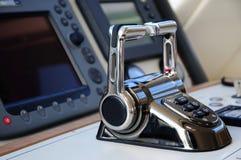Luksusowa jacht kabina zdjęcie royalty free