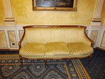 Luksusowa kanapa w Rome Obrazy Stock