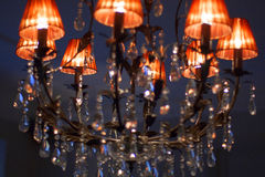 Luksusowa lampa Fotografia Stock