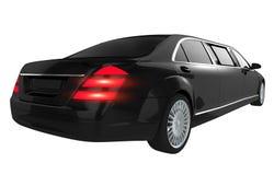 Luksusowa limuzyna Odizolowywająca ilustracji