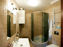 Luksusowa nowożytna łazienka fotografia stock